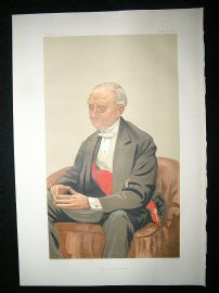 Vanity Fair Print: 1877 Adm. Hastings Reginald Velverton